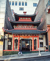 San Francisco, California, Chinatown. Bank of Canton, formerly the Old Telephone Exchange.