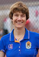 August 8, 2014, Netherlands, Rotterdam, TV Victoria, Tennis, National Junior Championships, NJK,  Babette Pluim, doctor<br /> Photo: Tennisimages/Henk Koster