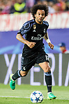 Marcelo Vieira Da Silva of Real Madrid in action during their 2016-17 UEFA Champions League Semifinals 2nd leg match between Atletico de Madrid and Real Madrid at the Estadio Vicente Calderon on 10 May 2017 in Madrid, Spain. Photo by Diego Gonzalez Souto / Power Sport Images