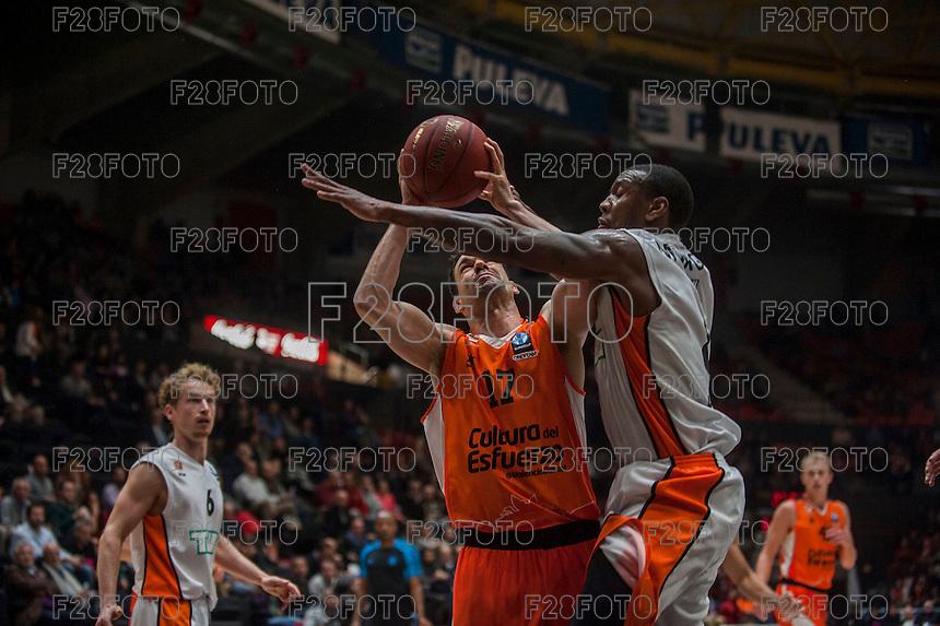 VALENCIA, SPAIN - December 2: Rafa Martinez during EUROCUP match between Valencia Basket Club and Ratiopharm ULM at Fonteta Stadium on December 2, 2015