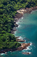aerial photograph of Taboga Island, Panama Bay, Panama  | fotografía Isla de Taboga, Golfo de Panamá