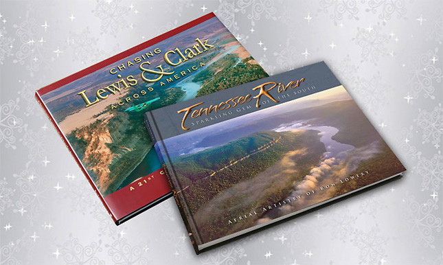 Combo of Tennessee River and Chasing Lewis & Clark books