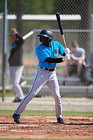 Miami Marlins Milton Smith II (39) during a Minor League Spring Training Intrasquad game on March 28, 2019 at the Roger Dean Stadium Complex in Jupiter, Florida.  (Mike Janes/Four Seam Images)