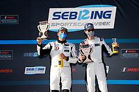#24 Sean Creech Motorsport Ligier JS P3, P3-2: Francesco Melandri, Nigel Greensall <br /> Winners, Victory Lane