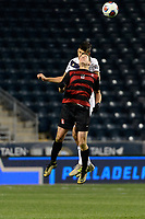 Chester, PA - Friday December 08, 2017: Foster Langsdorf The Stanford Cardinal defeated the Akron Zips 2-0 during an NCAA Men's College Cup semifinal match at Talen Energy Stadium.