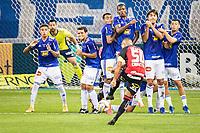 BELO HORIZONTE (MG) - 11/09/2020 - CRUZEIRO-VITORIA - Partida entre Cruzeiro e Vitoria, válida pela 9ª rodada do Campeonato Brasileiro da série B 2020, realizada no Estadio Mineirão, na cidade de Belo Horizonte, nesta sexta feira (11)