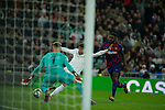 Real Madrid CF's Mariano Diaz shoot on goal durig La Liga match. Mar 01, 2020. (ALTERPHOTOS/Manu R.B.)