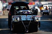 Feb 9, 2018; Pomona, CA, USA; NHRA funny car driver Jonnie Lindberg during qualifying for the Winternationals at Auto Club Raceway at Pomona. Mandatory Credit: Mark J. Rebilas-USA TODAY Sports