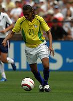 Tania.US Women's National Team vs Brazil at Legion Field in Birmingham, Alabama.