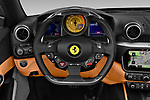 Car pictures of steering wheel view of a 2019 Ferrari Portofino base 2 Door Convertible
