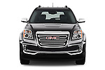 Car photography straight front view of a 2017 GMC Terrain SLT 5 Door SUV Front View