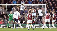 Everton's Yerry Mina scores the opening goal past Burnley's Joe Hart<br /> <br /> Photographer Rich Linley/CameraSport<br /> <br /> The Premier League - Burnley v Everton - Wednesday 26th December 2018 - Turf Moor - Burnley<br /> <br /> World Copyright © 2018 CameraSport. All rights reserved. 43 Linden Ave. Countesthorpe. Leicester. England. LE8 5PG - Tel: +44 (0) 116 277 4147 - admin@camerasport.com - www.camerasport.com