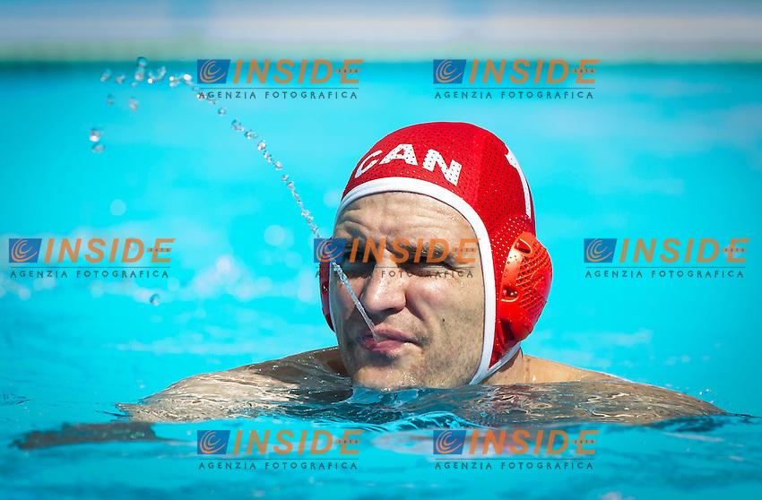 CAN-ITA<br /> Canada Vs Italy<br /> RANDALL Robin CAN<br /> Day 10 02/08/2015<br /> XVI FINA World Championships Aquatics<br /> Waterpolo<br /> Kazan Tatarstan RUS July 24 - Aug. 9 2015 <br /> Photo Pasquale Mesiano/Deepbluemedia/Insidefoto