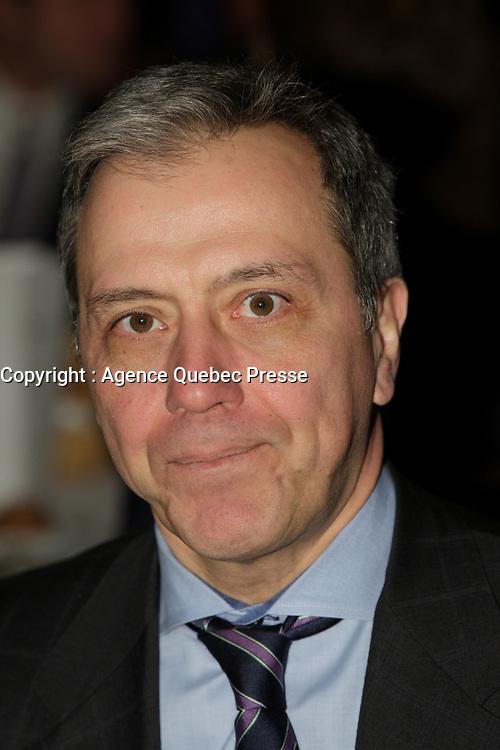 Montreal, CANADA, 2015  File Photo.<br /> <br /> Robert Dumas, President, Sun Life Financial, Quebec<br /> <br /> PHOTO : Pierre Roussel - Agence Quebec Presse