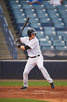 Tampa Yankees Zack Zehner (36) bats during a game against the Dunedin Blue Jays on April 19, 2016 at George M. Steinbrenner Field in Tampa, Florida.  Tampa defeated Dunedin 12-7.  (Mike Janes/Four Seam Images)