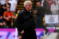 25th September 2021; Vicarge Road, Watford, Herts,  England;  Premier League football, Watford versus Newcastle; Newcastle United Manager Steve Bruce