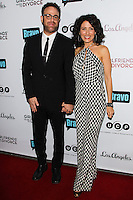 LOS ANGELES, CA, USA - NOVEMBER 18: Paul Adelstein, Lisa Edelstein arrive at the Los Angeles Premiere Of Bravo's 'Girlfriends' Guide to Divorce' held at the Ace Hotel on November 18, 2014 in Los Angeles, California, United States. (Photo by Celebrity Monitor)