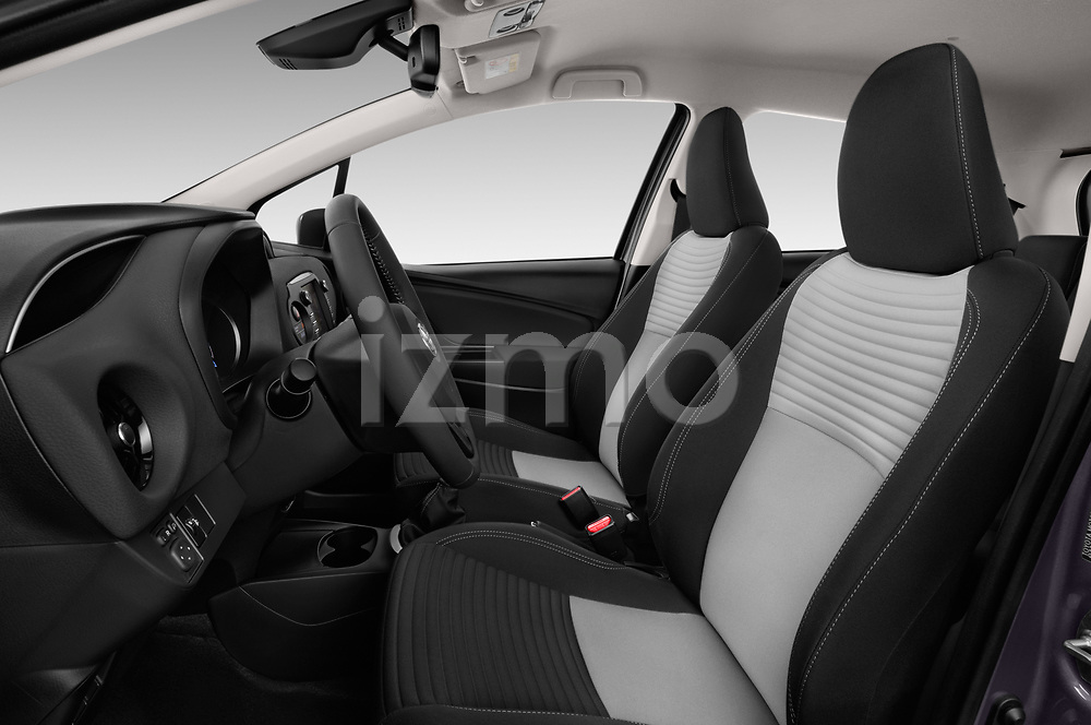 Front seat view of 2017 Toyota Yaris Y-conic 5 Door Hatchback front seat car photos