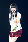 Carly Rae Jepsen, Nov 08, 2012 : Tokyo, Japan - Carly Rae Jepsen performs on the catwalk during Girls Award 2012 Autumn/Winter at the Yoyogi National Gymnasium in Shibuya, Japan. She sang ''Call Me Maybe?''. (Photo by Yumeto Yamazaki/Nippon News)