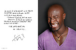 Taye Diggs photographed for ART & SOUL