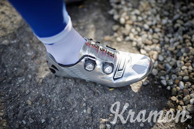 Jens Voigt's legendary quote 'Shut up legs?' inspiring a new generation of riders<br /> <br /> pre-Giro TT-training ride in Gelderland (The Netherlands)<br /> <br /> 99th Giro d'Italia 2016