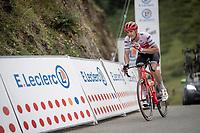 Jasper Stuyven (BEL/Trek-Segafredo) at the top of the Horquette d'Ancizan<br /> <br /> Stage 12: Toulouse to Bagnères-de-Bigorre(209km)<br /> 106th Tour de France 2019 (2.UWT)<br /> <br /> ©kramon