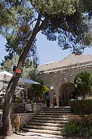 """Asie/Israël/Judée/Jérusalem: Maison Ticho """"Ticho House """" la Maison et le Jardin. La maison d'Anna Ticho abrite un musée et un restaurant"""