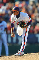 Tomas Cruz (Pitcher) Clemson Tigers (Photo by Tony Farlow/Four Seam Images)