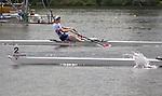 Rowing, United States Women's lightweight single sculls, Julie Nichols, US national rowing team, November 3, 2010, 2010 FISA World Rowing Championships, Lake Karapiro, Hamilton, New Zealand,