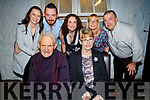 Ger and Mary Long from Knocknagoshel celebrating their 50th wedding anniversary on Saturday. Seated: Ger and Mary Long.<br /> Back l to r: Amy Mulcahy, Diarmuid and Eileen Long, Ann Marie and Eddie Curtin.