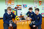 Barry Fitzsimons, Jack Atlantic and Ollie Shea Pobalscoil Inbhear Scéine  project is Need For Speed