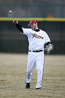 March 22nd 2009:  Right Fielder Nick Wojnowski (33) of the Rider University Broncs during a game at Sal Maglie Stadium in Niagara Falls, NY.  Photo by:  Mike Janes/Four Seam Images