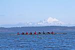 Port Townsend, Rat Island Regatta, rowers, racing, Sound Rowers, Rat Island Rowing Club, Puget Sound, Olympic Peninsula, Washington State, water sports, rowing, kayaking, competition, Sweet 16,