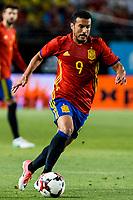 Pedro Rodriguez of Spain during the friendly match between Spain and Colombia at Nueva Condomina Stadium in Murcia, jun 07, 2017. Spain. (ALTERPHOTOS/Rodrigo Jimenez) (NortePhoto.com) (NortePhoto.com)