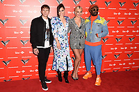 Danny Jones, Jessie J, Pixie Lott and Will.i.Am<br /> at The Voice Kids 2019 photocall, London<br /> <br /> ©Ash Knotek  D3506  06/06/2019