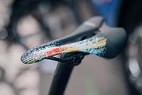 Marcel Kittel's (DEU/QuickStep Floors) costumised saddle #fireworks<br /> <br /> 104th Tour de France 2017<br /> Stage 6 - Vesoul › Troyes (216km)