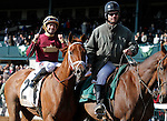 LEXINGTON, KY - APRIL 09: #2 Sheer Drama and jockey Joe Bravo after winning the 15th running of The Madison (Grade 1) $300,000 at Keeneland race course for owner Harold Queen and trainer David Fawkes.  April 9, 2016 in Lexington, Kentucky. (Photo by Candice Chavez/Eclipse Sportswire/Getty Images)