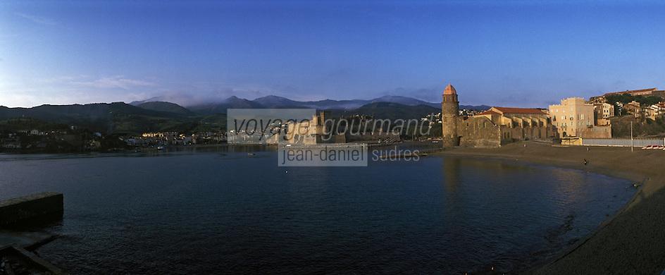 Europe/France/Languedoc-Rousillon/66/Pyrénées-Orientales/: Collioure: le port