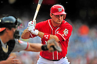 24 May 2009: Washington Nationals' third baseman Ryan Zimmerman is intentionally walked in the bottom of the seventh inning against the Baltimore Orioles at Nationals Park in Washington, DC. The Nationals rallied to defeat the Orioles 8-5 and salvage one win of their interleague series. Mandatory Credit: Ed Wolfstein Photo