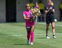 Stanford Soccer W v UCLA, April 11, 2021