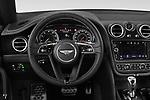 Steering wheel view of a 2018 Bentley Bentayga - 5 Door SUV
