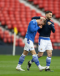 22.05.2021 Scottish Cup Final, St Johnstone v Hibs: Glenn Middleton crying at full time after missing a penalty but winning the cup