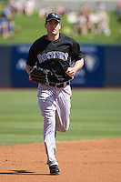 March 13, 2010 - Colorado Rockies' Seth Smith #7 during a spring training game against the Milwaukee Brewers at Maryvale Baseball Park in Phoenix, Arizona.