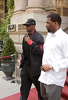 Montreal (Qc) CANADA - June 8 2008-<br />  Puff Daddy (P Diddy aka SEan Combs) leave the Saint-James Hotel  the day after his performance at Tribe Hyper Club,<br /> <br /> during Montreal Formula One Grand-Prix week end.<br /> <br /> photo : (c) 2008 Images Distribution