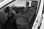 Front seat view of a 2019 Volkswagen Tiguan Highline 5 Door SUV front seat car photos