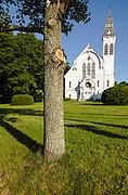 First Congregational Church in Georgetown, Massachusetts.