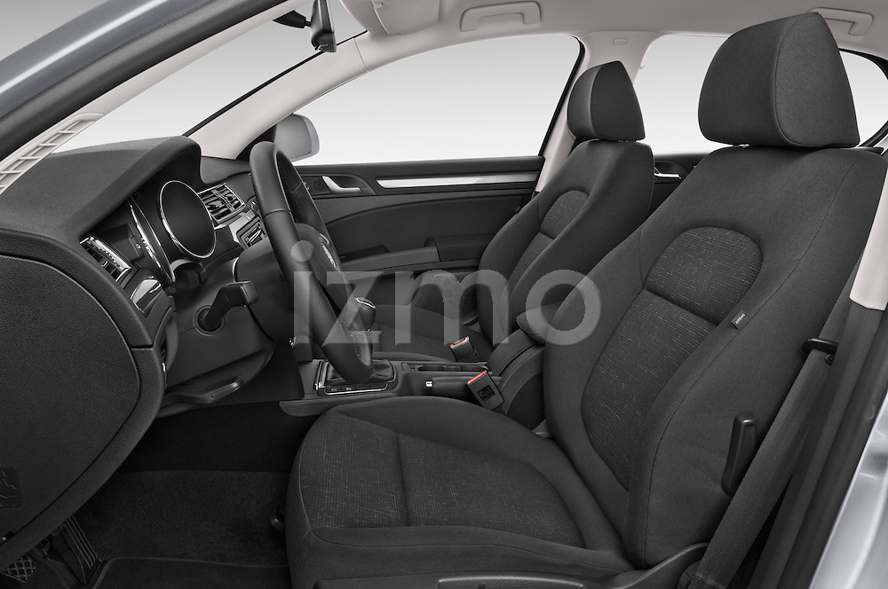 Front seat view of a 2014 Skoda SUPERB Active 5 Door Hatchback 2WD Front Seat car photos