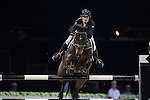 Jessica Mendoza on Spirit T competes during the AirbusTrophy at the Longines Masters of Hong Kong on 20 February 2016 at the Asia World Expo in Hong Kong, China. Photo by Juan Manuel Serrano / Power Sport Images