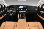 Stock photo of straight dashboard view of 2016 Lexus GS 200t 4 Door Sedan Dashboard