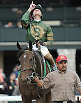 October 5, 2014:  Don't Tell Sophia and jockey Joseph Rocco, Jr. win the Juddmonte Spinster at Keeneland for owners Philip Sims and Jerry Namy and trainer Philip Sims .Jessica Morgan/ESW/CSM